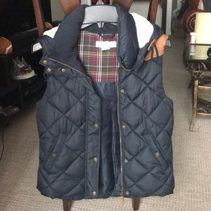 H&M Puffer Vest with Hoodie